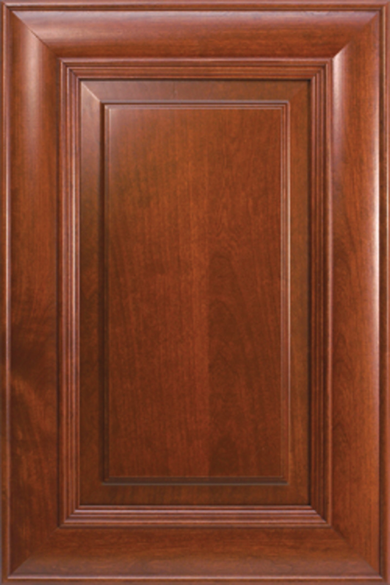 Keystone cabinet door.