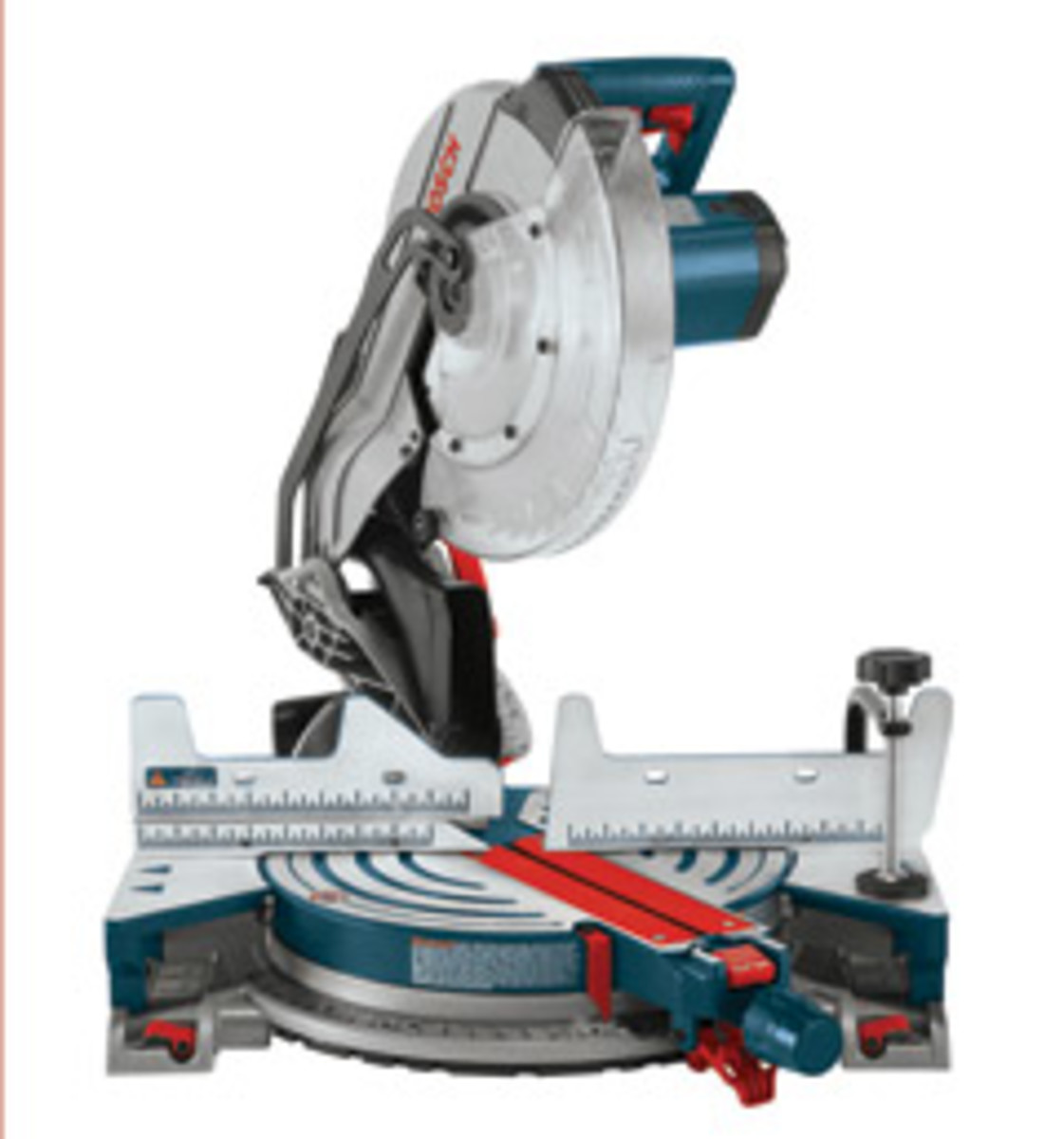 The Bosch CM12 single-bevel compound miter saw is made for bringing it to and from the job site, according to the company.