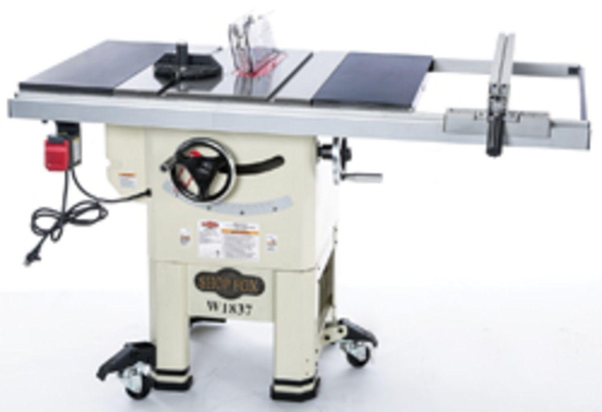 Shop Fox Rolls Out New Hybrid Table Saw