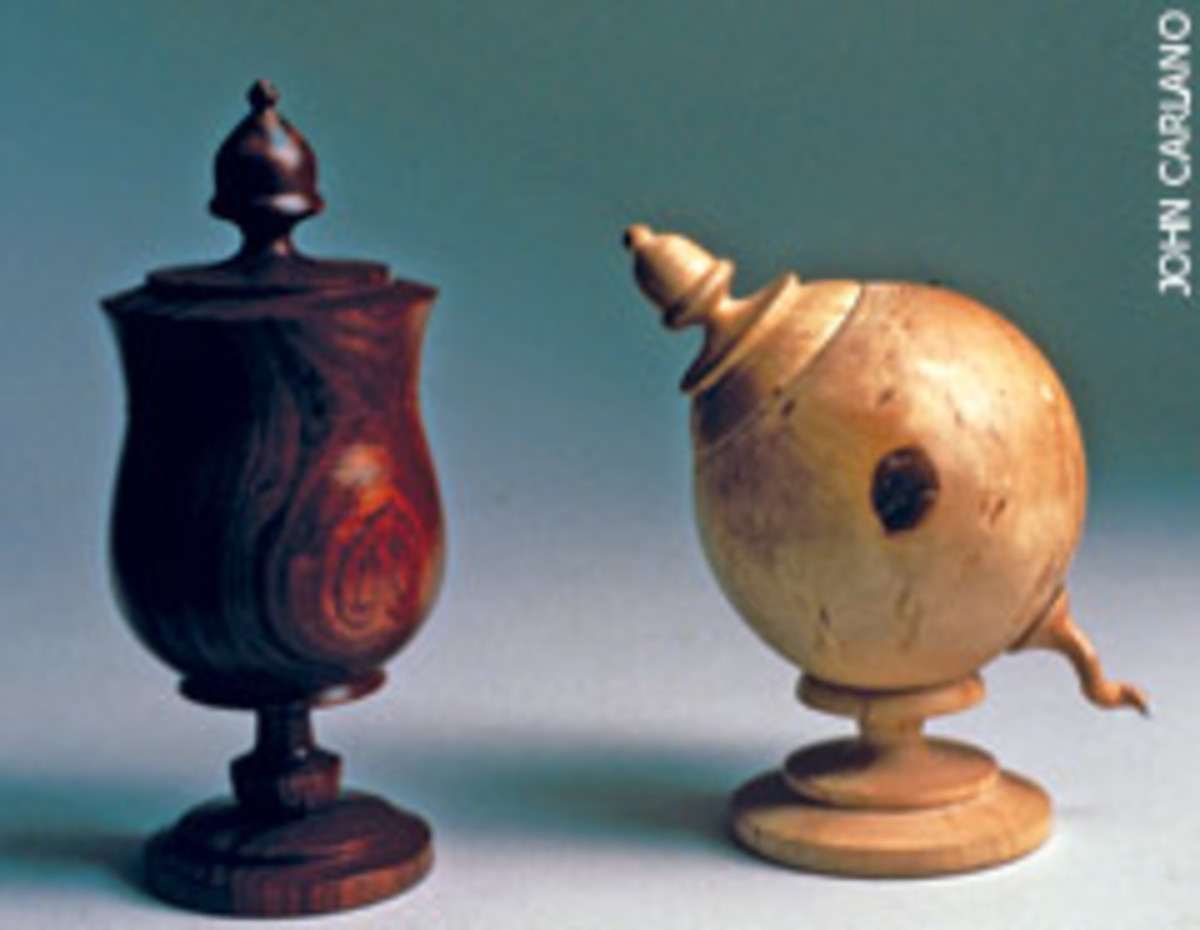 "The ""Turning Art into Wood"" exhibit in Philadelphia includes Jake Brubaker's turnings."