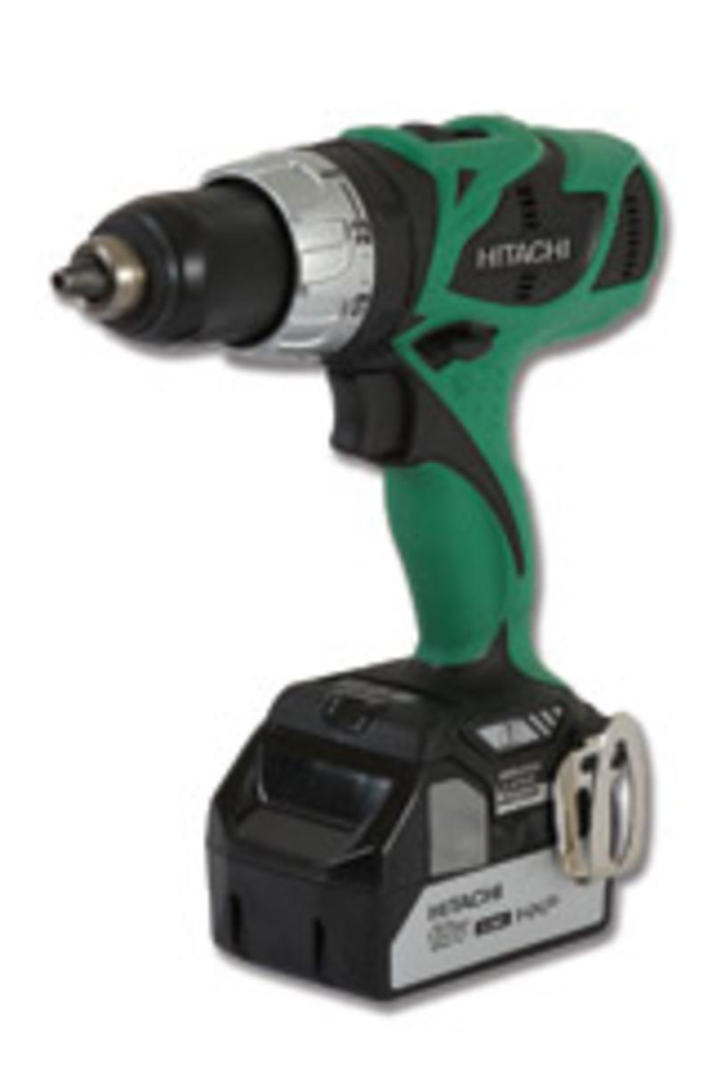 Hitachi's new cordless drill/driver model DS18DBL.