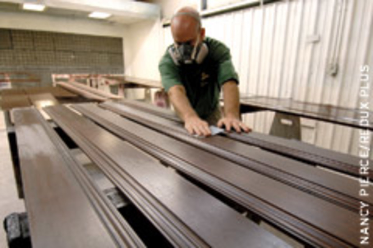 Combating bust at Forest Millwork in Asheville, N.C.