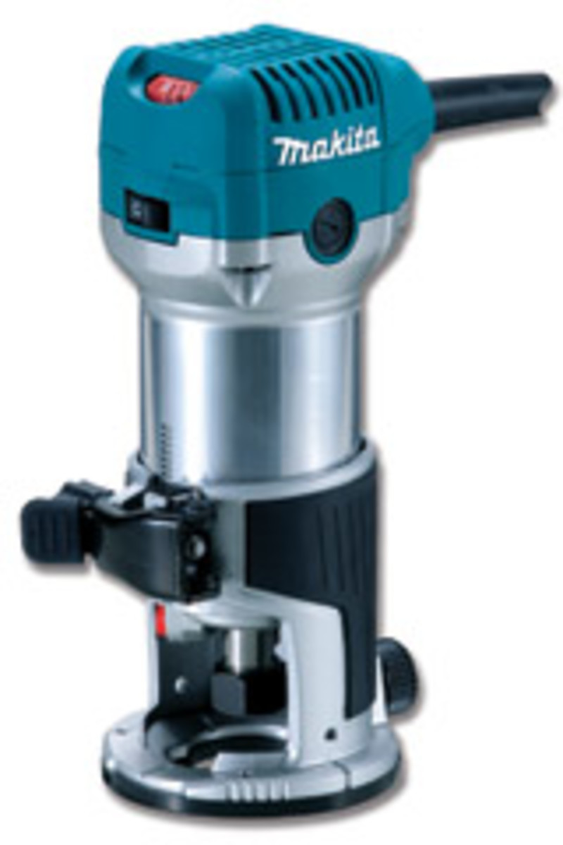 Makita's 1-1/4-hp compact router.
