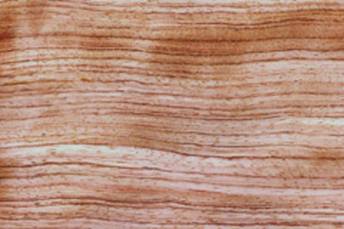 Quartered bubinga.