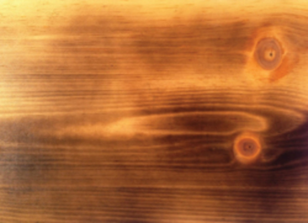 The Heat Is On Charring Can Be A Cool Finish Woodshop News