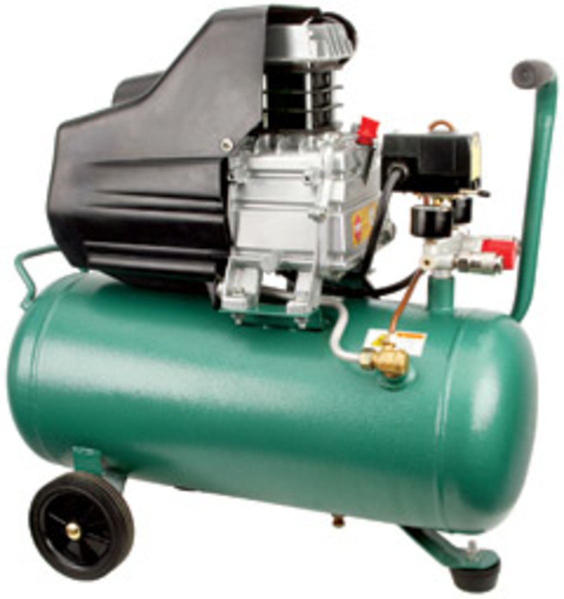 Grizzly's new 2-1/2-hp, 6.3-gallon air compressor, model T21888.