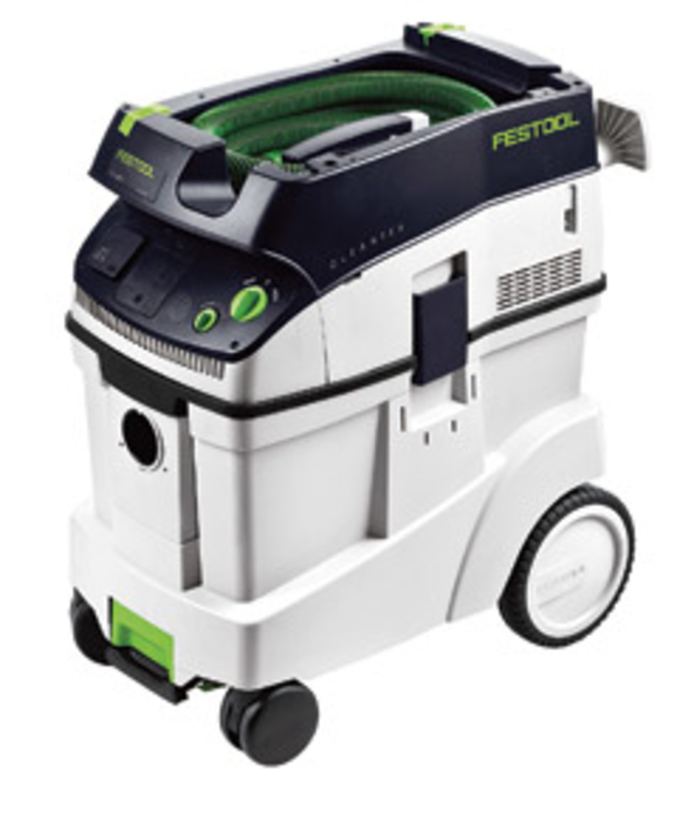 Festool's CT 48 dust extractor.