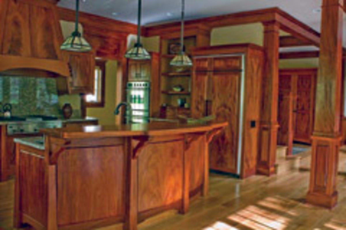 The Artisan House interior.