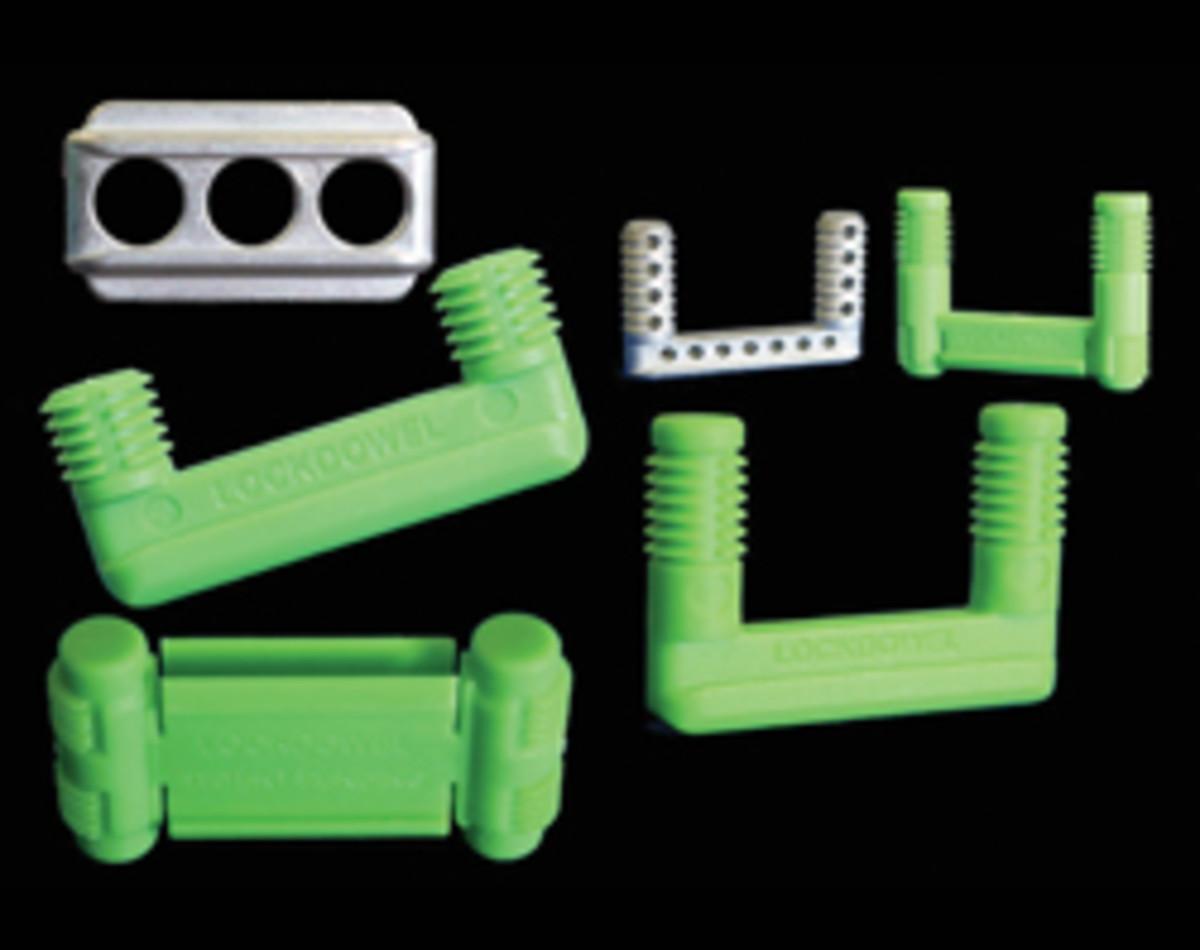 LockDowel's fasteners.