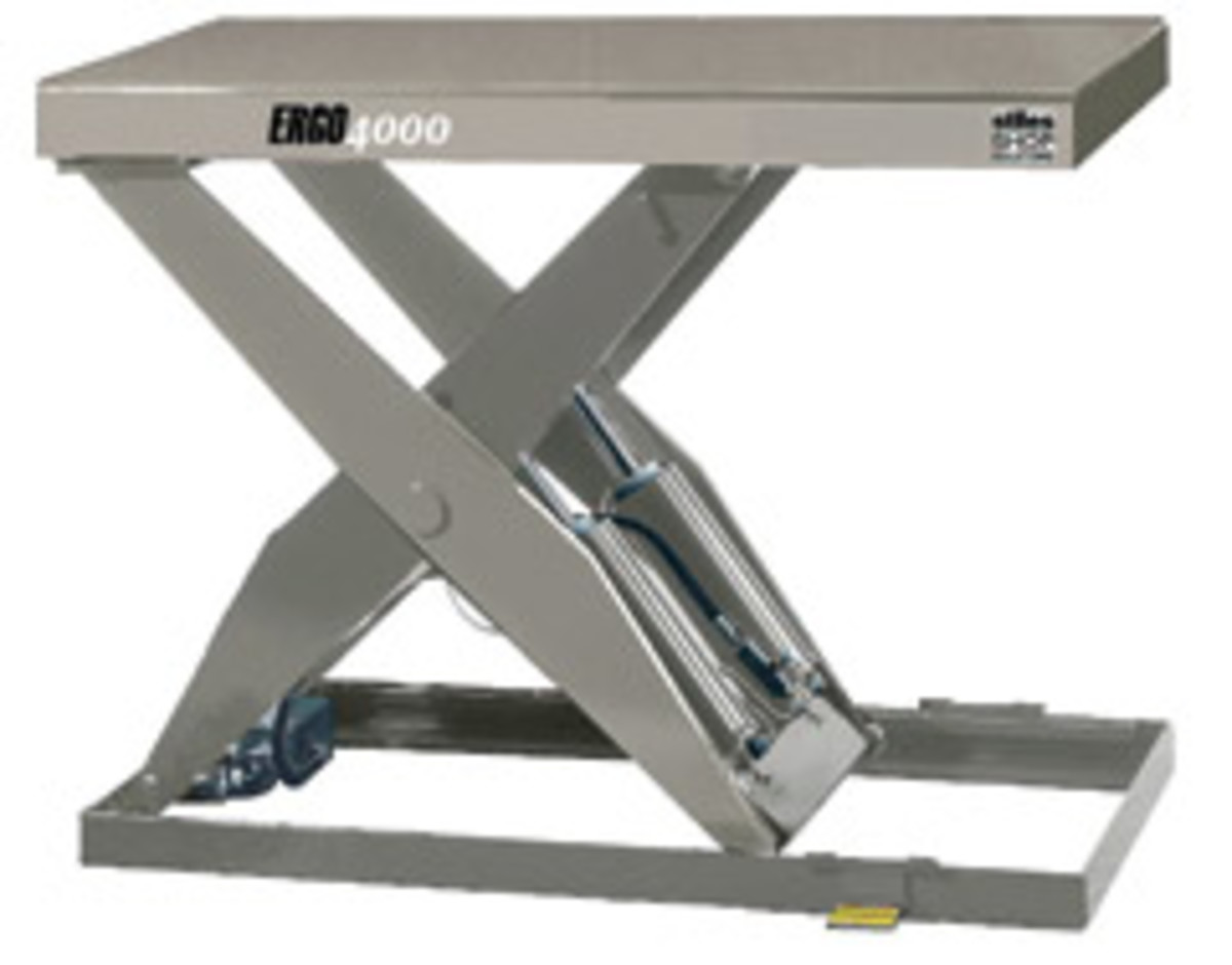 The Ergo 4000 lift table from Southworth Products.