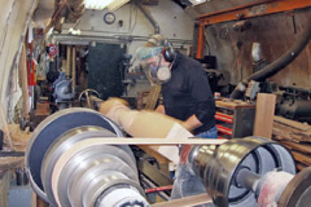 Pagliacco Turning and Milling in Woodacre, Calif., specializes in historic restoration and reproductions from Victorian through Greek Revival to postmodern classics.