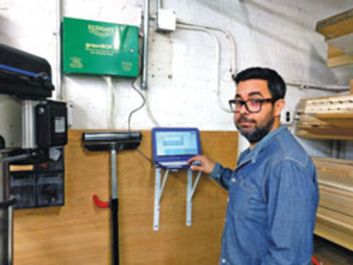 GreenBox can be programmed to address specific dust collection issues.