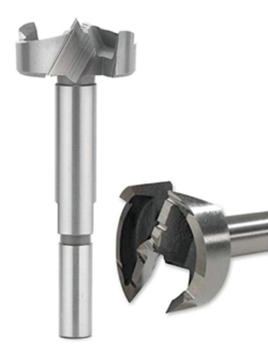 Forstner bits from Colt Tools feature a new shaft design.