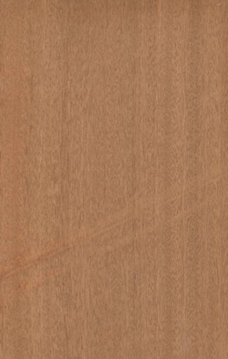 Quartered sapele