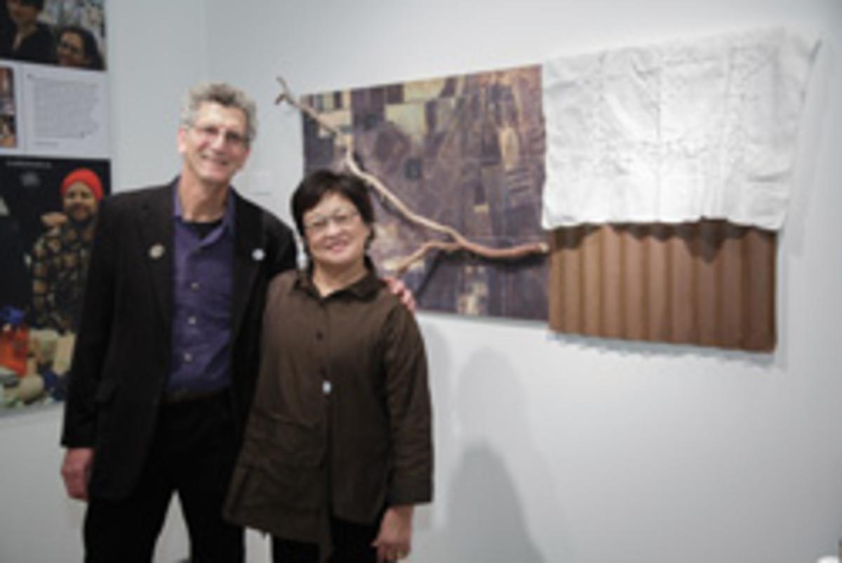 Stuart Kestenbaum and Wendy Maruyama.
