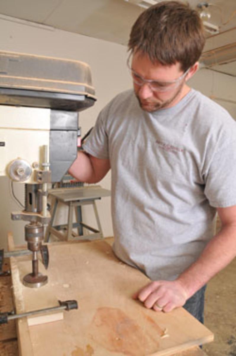 Woodworker Tom Kliminster.