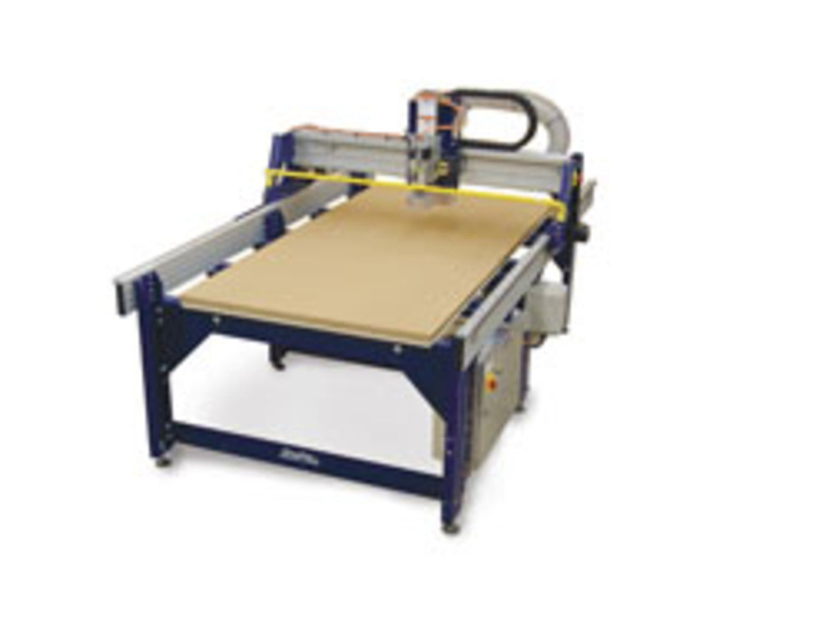 ShopBot offers several full-sized, gantry-based CNC routers in its PRSalpha series. For information, visit www.shopbottools.com.