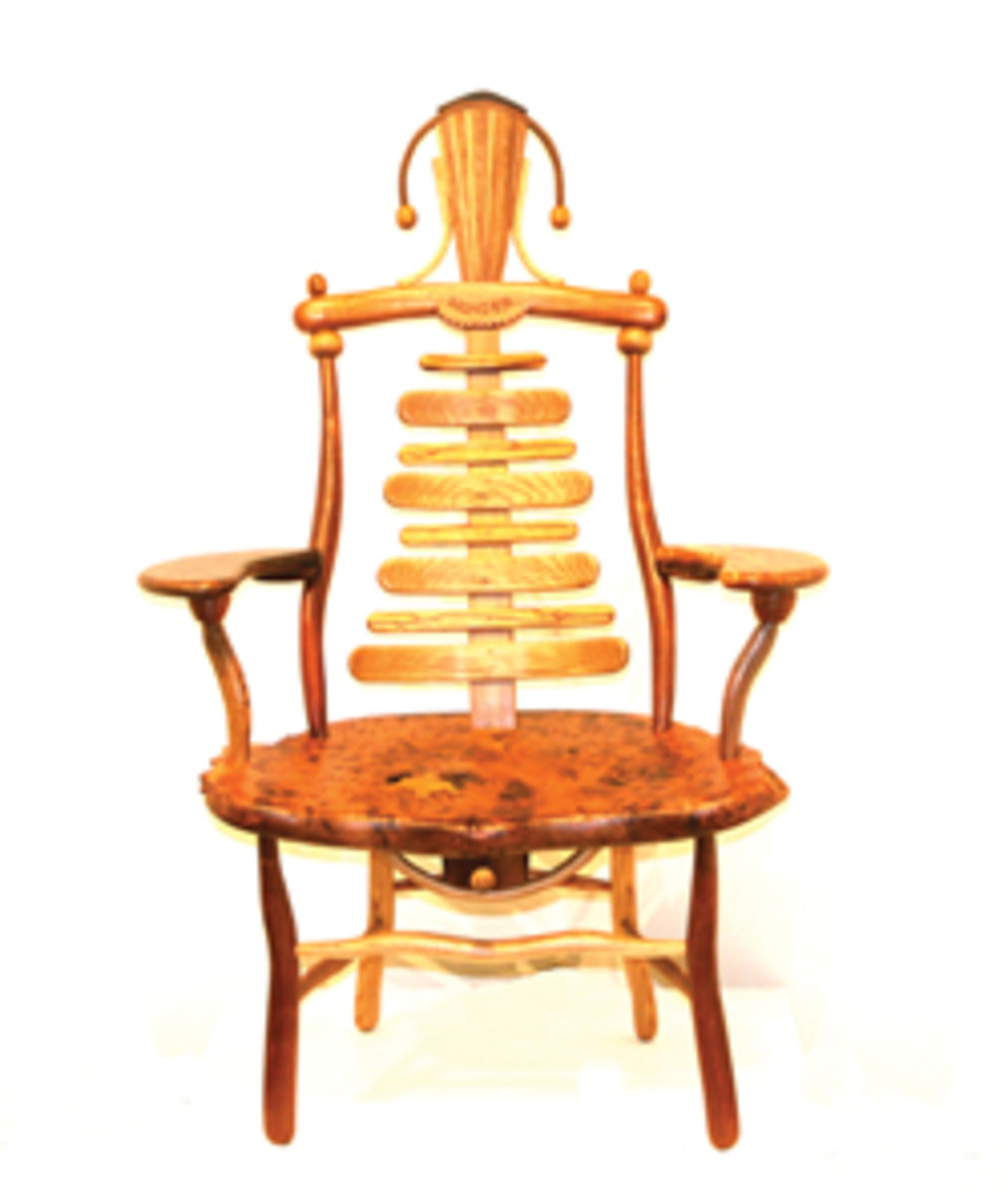 Chair by Michelle Holzapfel.