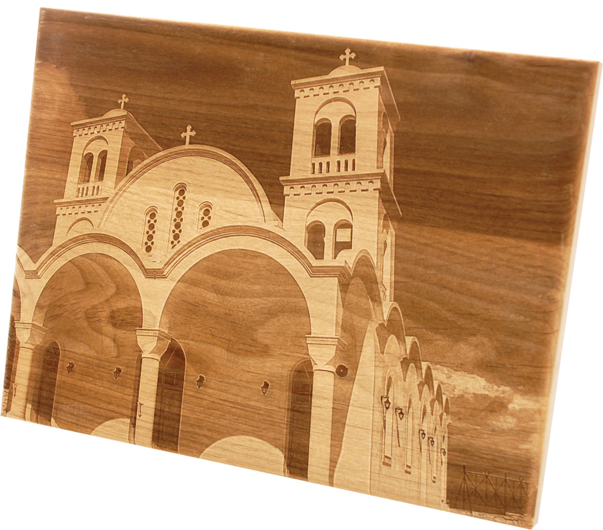 Laser engraving from photographs makes it easy to add personal artwork.
