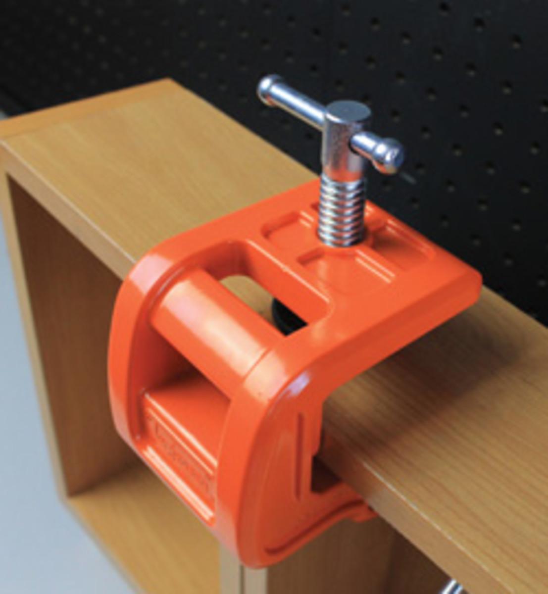 The Jorgensen casework claw clamp.