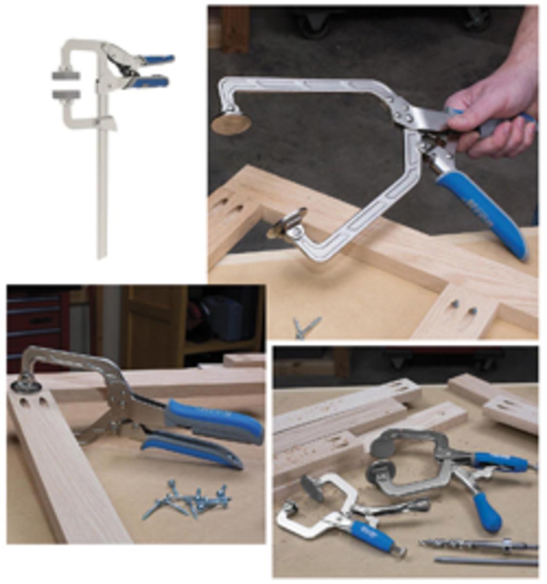 Kreg Tool's Automaxx clamps.