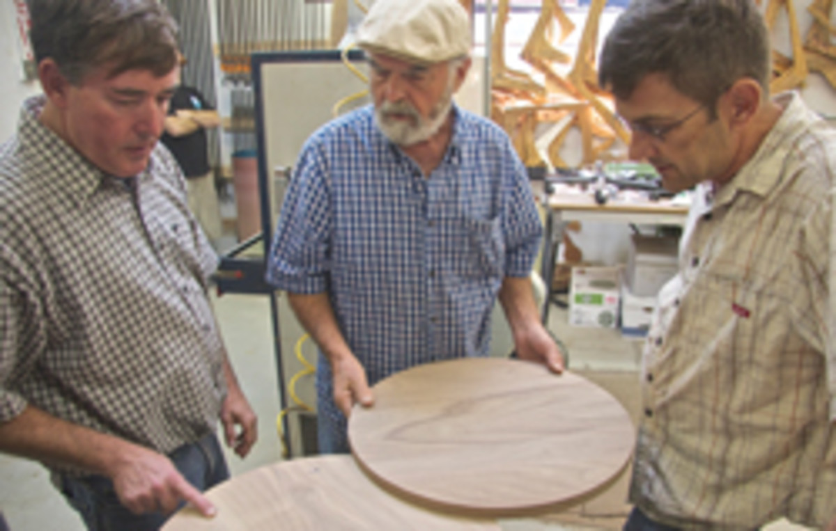 The Veterans Celebration teaches woodworking skills to veterans.