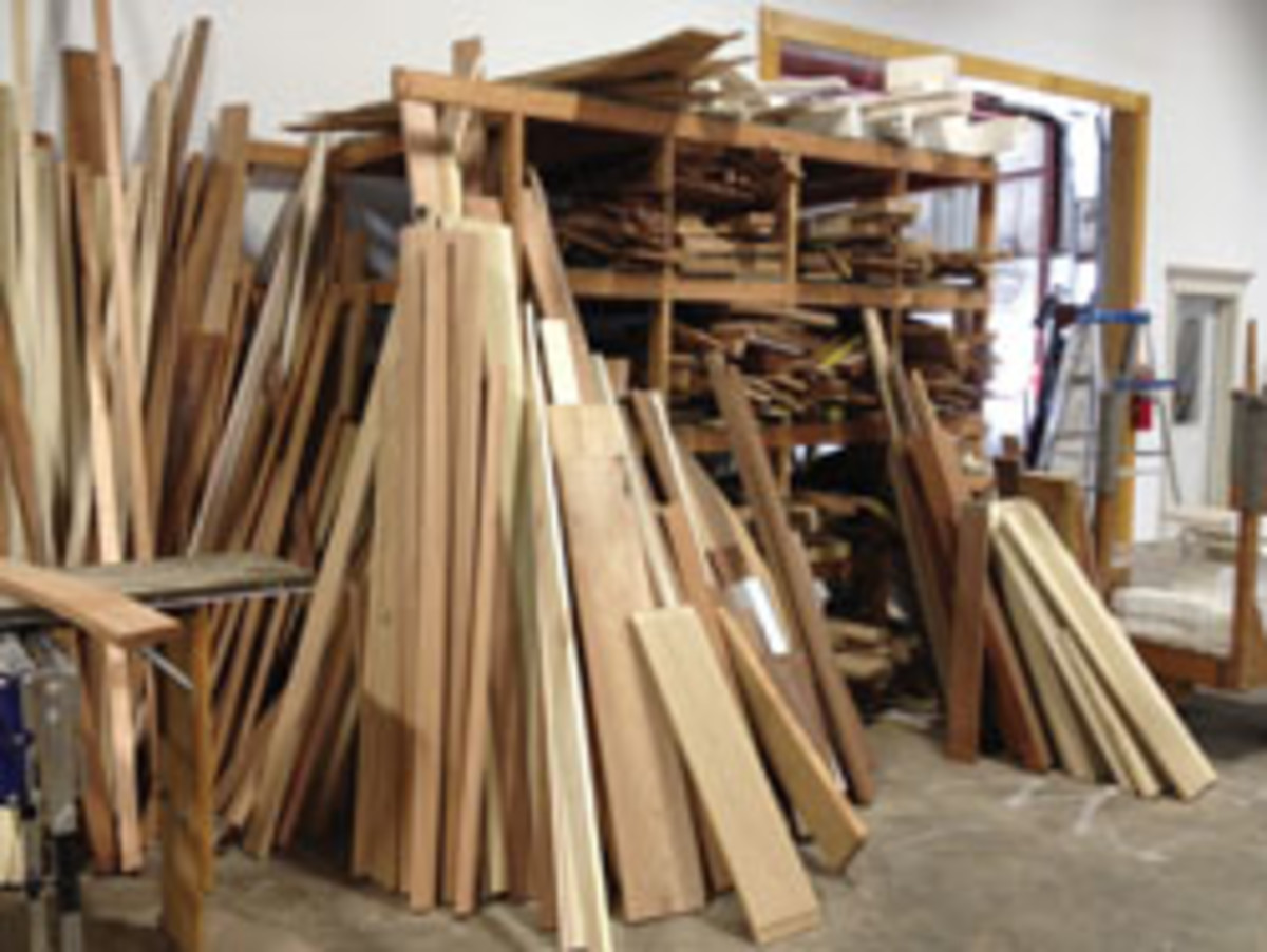 If your wood rack is overstocked, consider future purchases on an as-needed basis.