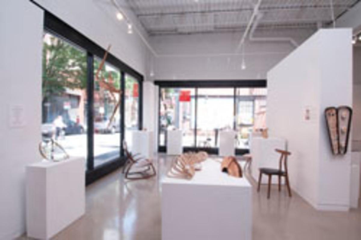 The allTURNatives: Form + Spirit exhibit at the Center for Art in Wood in Philadelphia.