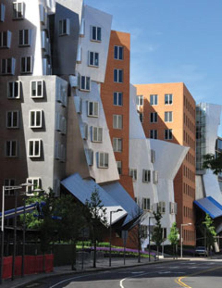 MIT's Stata Center.