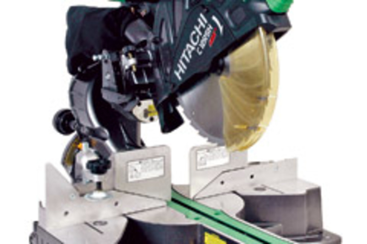 hitachi 12 miter saw. even with its old-fashioned (for hitachi) looks the 10\ hitachi 12 miter saw