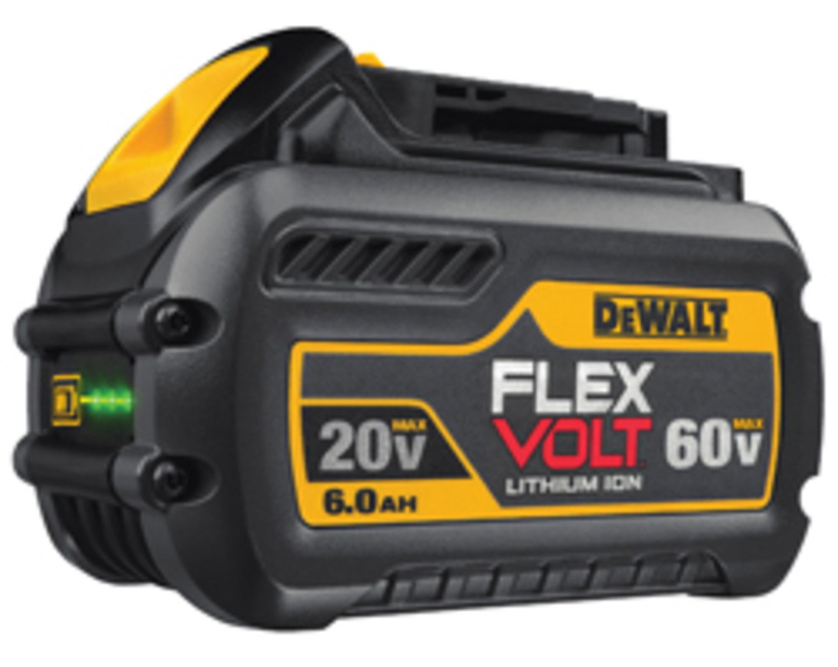 DeWalt introduced the FlexVolt system earlier this year.