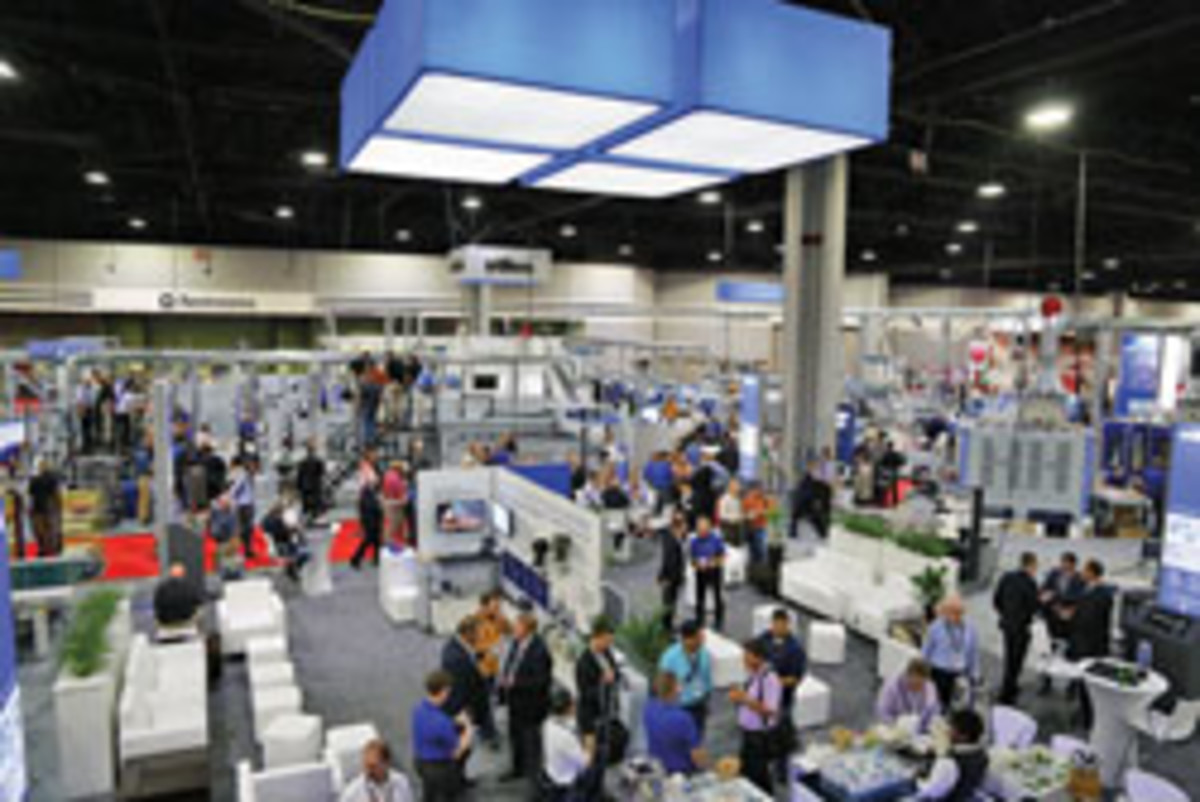 "Stiles dubbed its booth ""Stiles City"" at IWF 2016. It was the show's largest booth at 26,000 sq. ft."