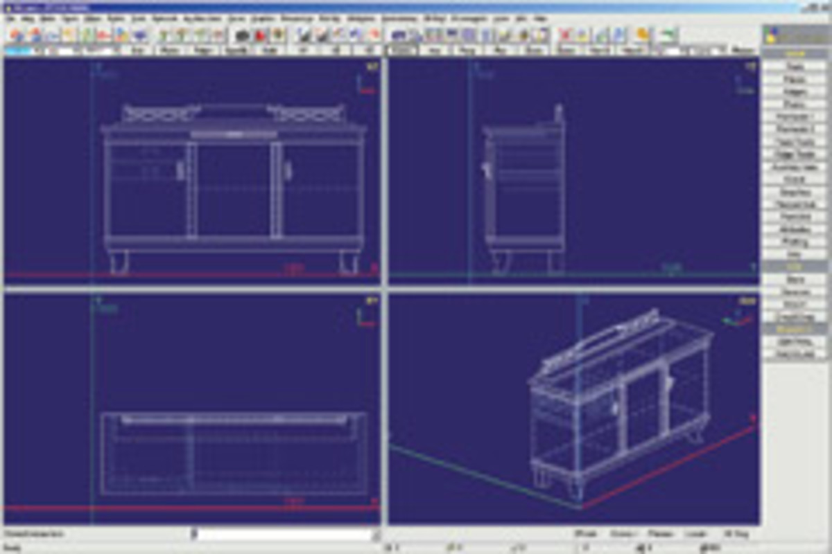 Pytha's 3-D CAD software offers a universal solution for the planning, presentation and production of designs, according to the company.