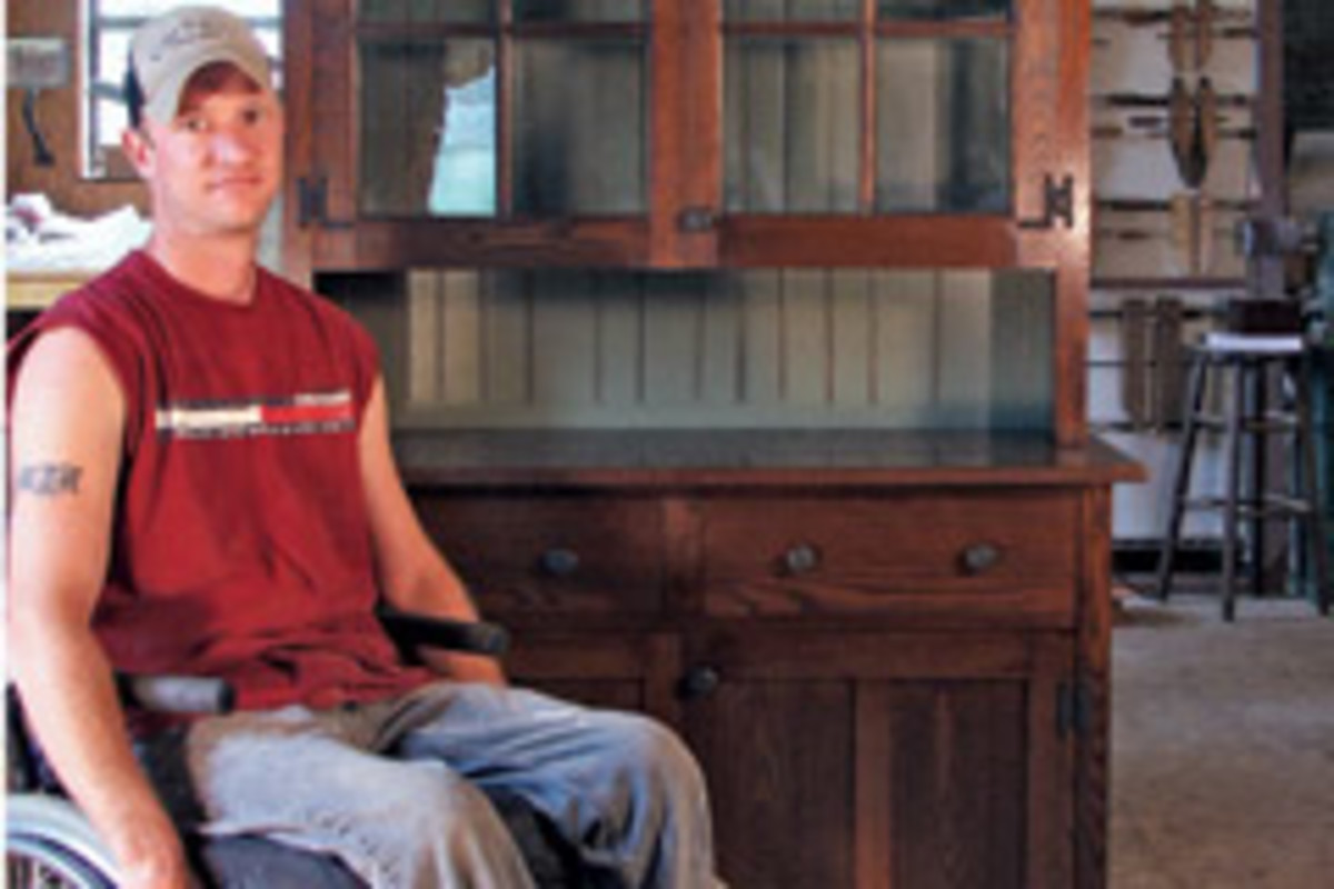 Venture Will Help Disabled Woodworkers Woodshop News
