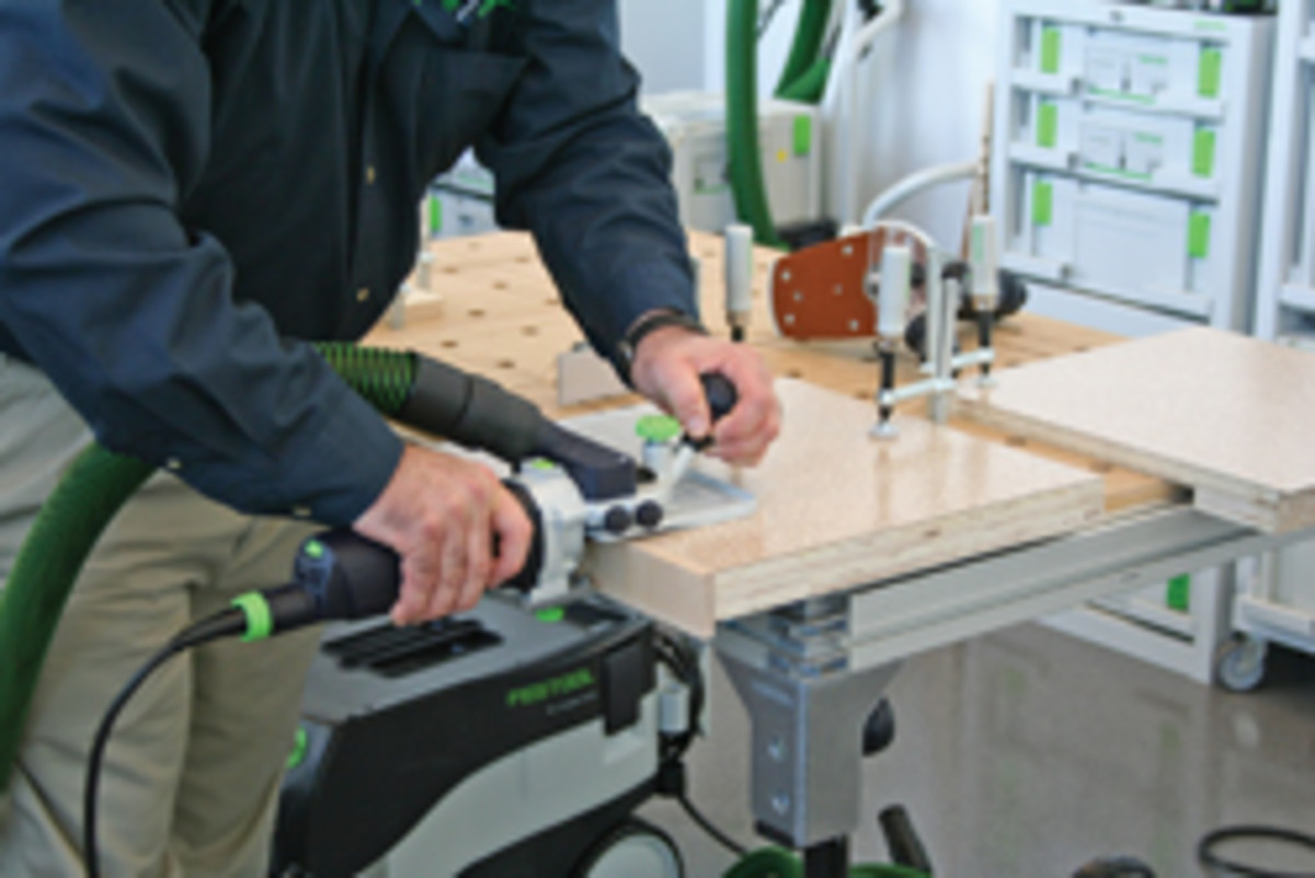 Festool's Domino joiner.