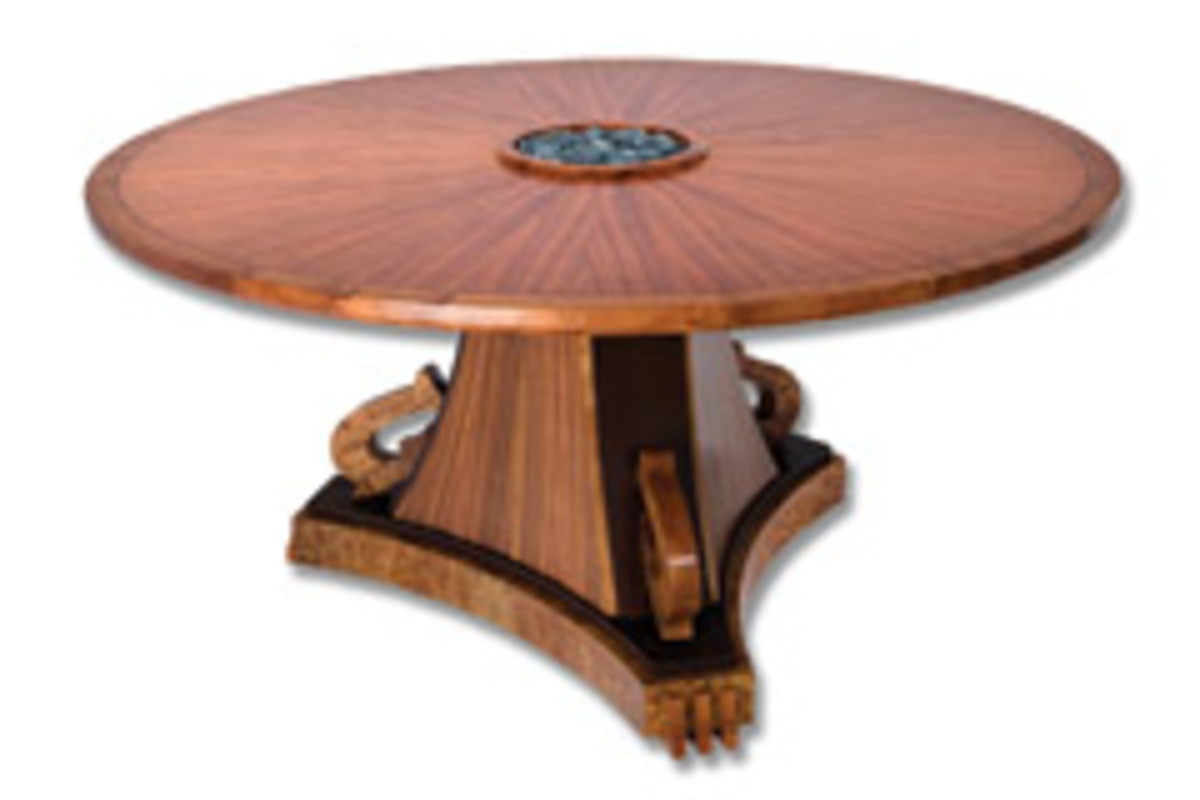 """Stephen Hynson's """"Biedermeier Goes Fishing,"""" will be one of 20 pieces presented Nov. 10-Dec. 23 at the """"Roots of Inspiration: Contemporary Functional Furniture"""" exhibition at the Maui Arts & Cultural Center."""