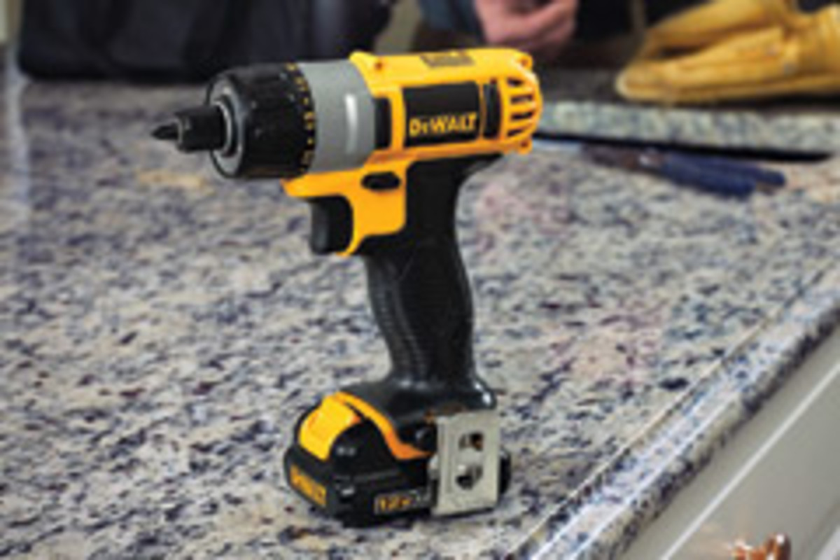"The screwdriver weighs 2.2 lbs. and features a 1/4"" hex chuck."