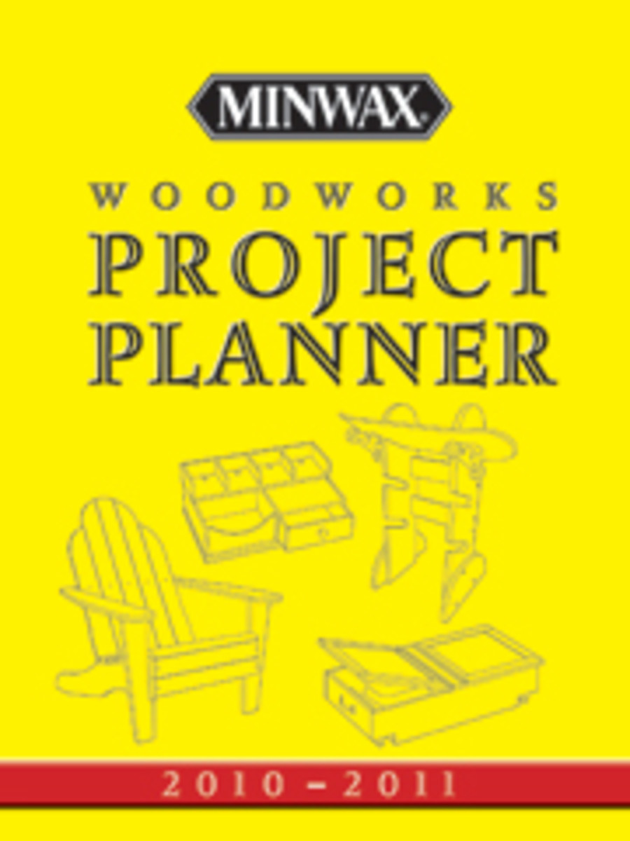 Minwax will send the Woodworks Project Planner to nearly 4,000 woodshop/industrial arts programs and educators.