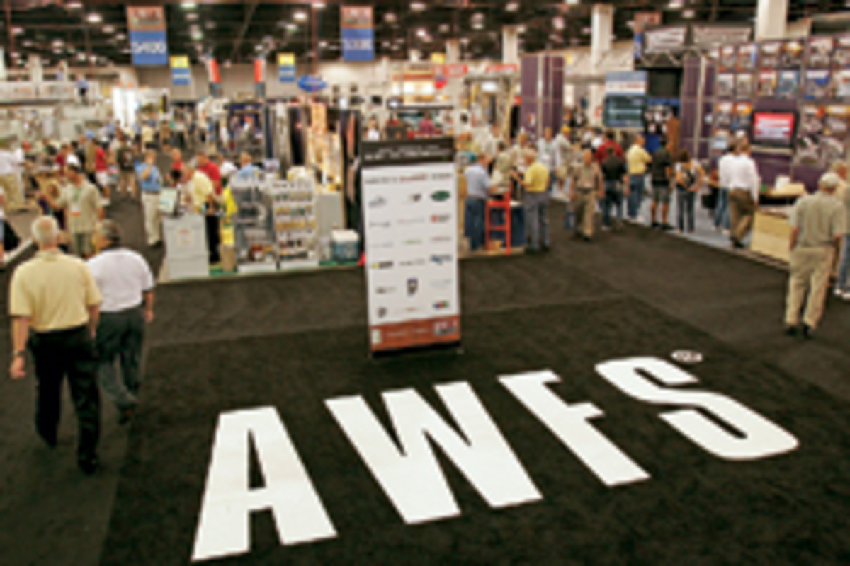 Organizers expect about 600 exhibitors and 19,000 attendees at this summer's AWFS fair in Las Vegas.