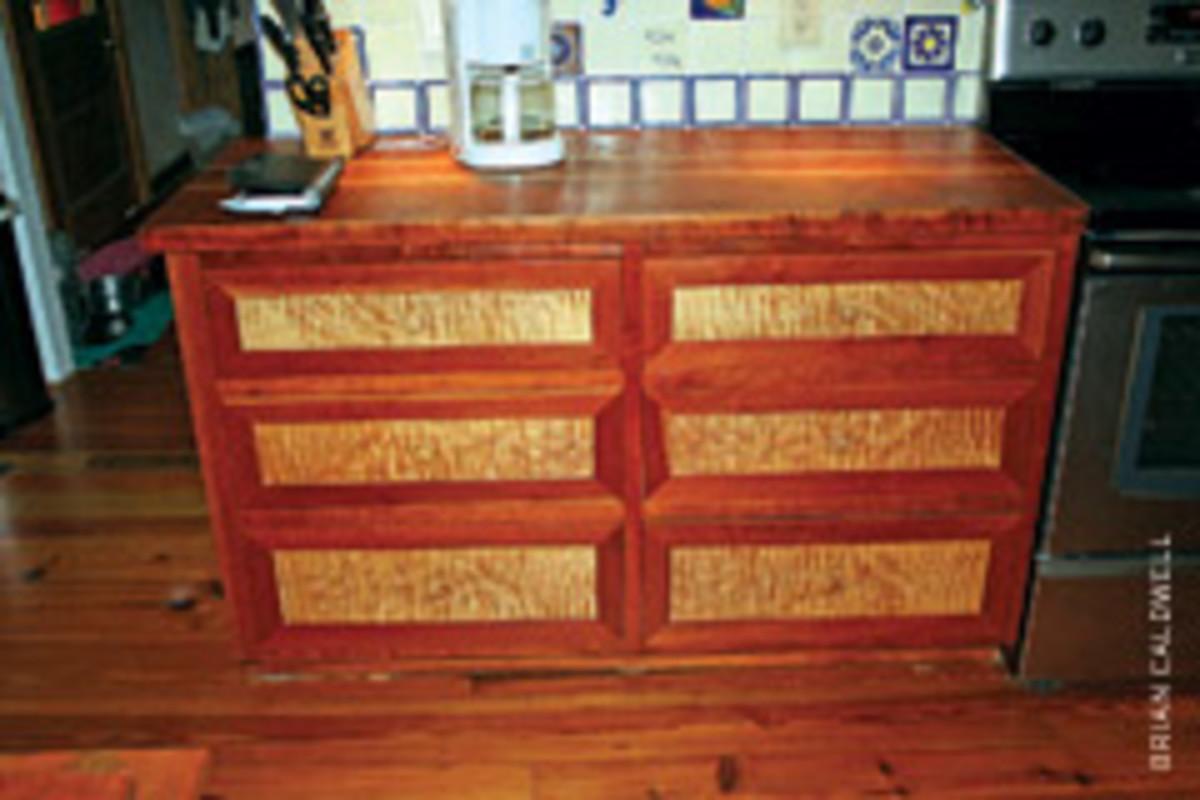 DeGruy's extensive portfolio includes this six-drawer dresser.