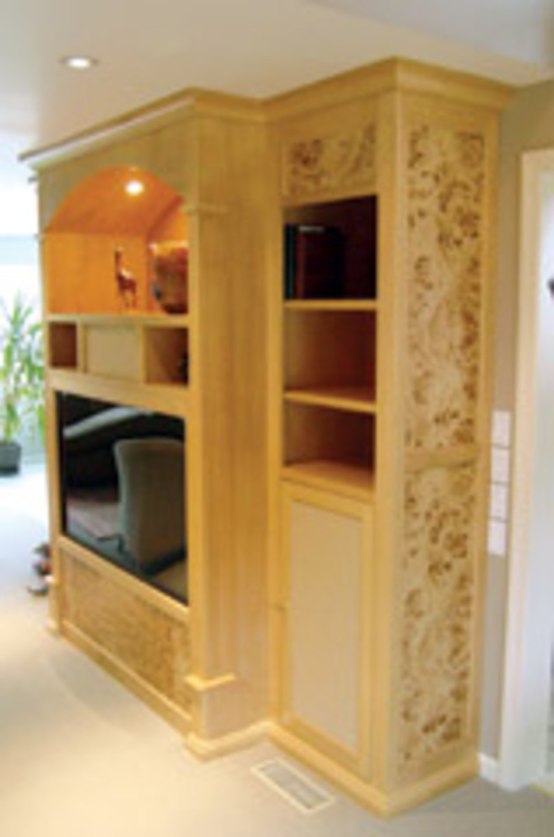 Mappa and mapa burl were used for this built-in.