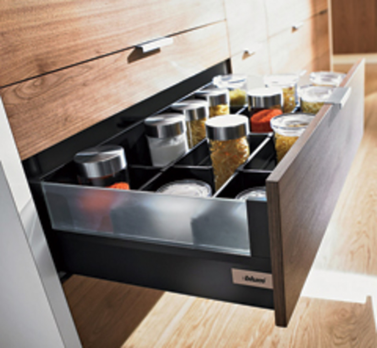 Tandembox intivo drawer systems from Blum.