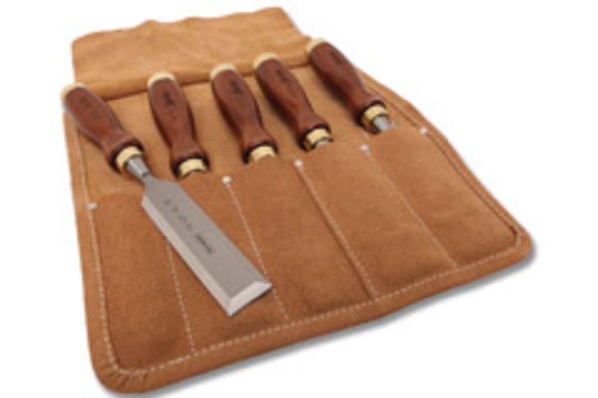 The five-piece Bailey chisel set.