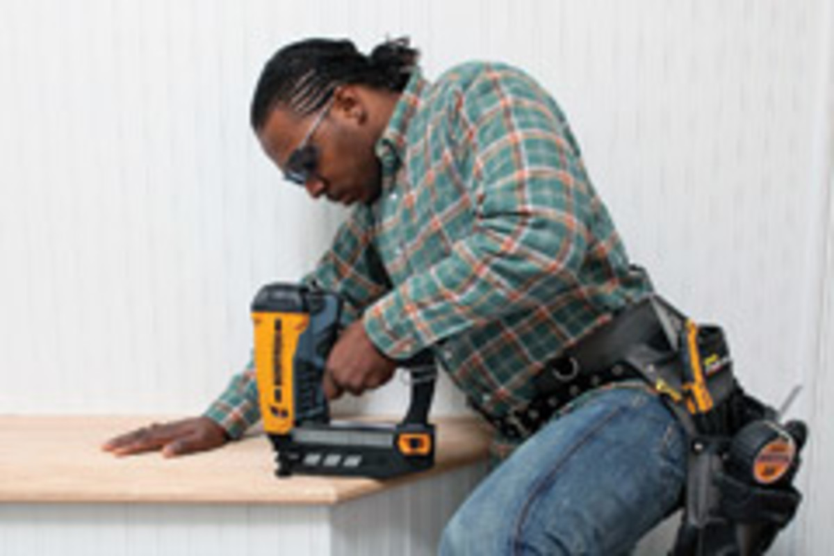 The new Bostitch cordless finish nailers are available in 15-, 16- and 18-gauge models.