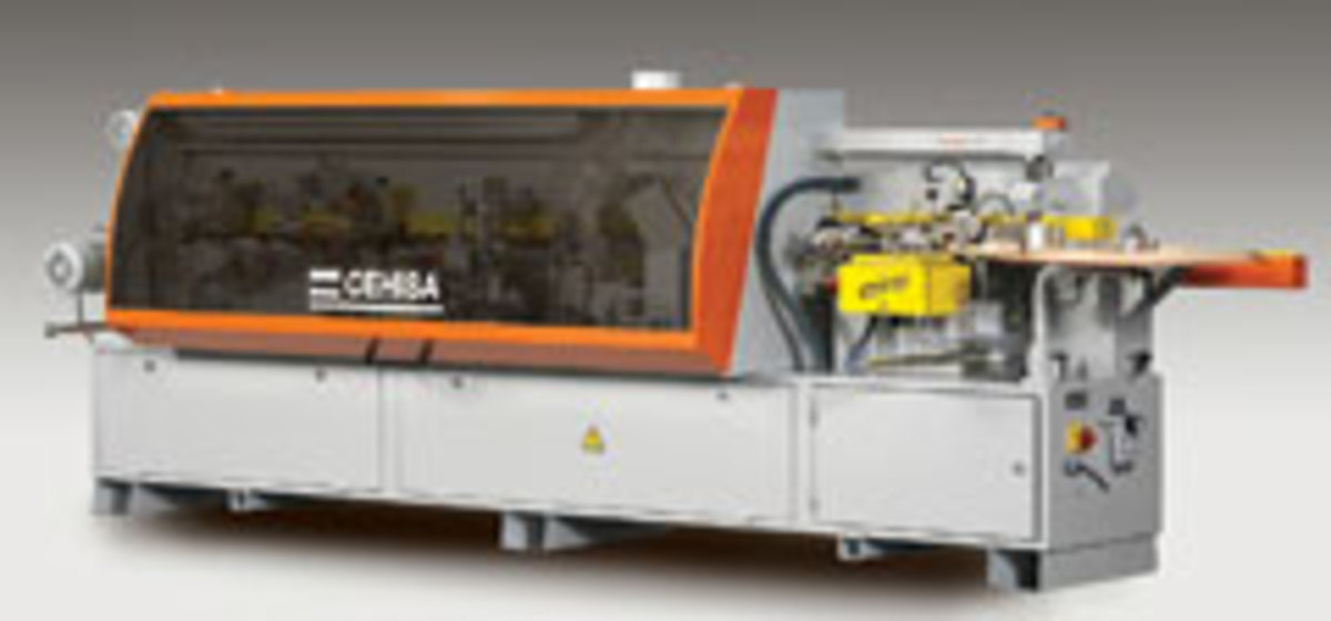 The Cehisa Pro 11 edgebander from Adwood Corp. was introduced at IWF 2010.