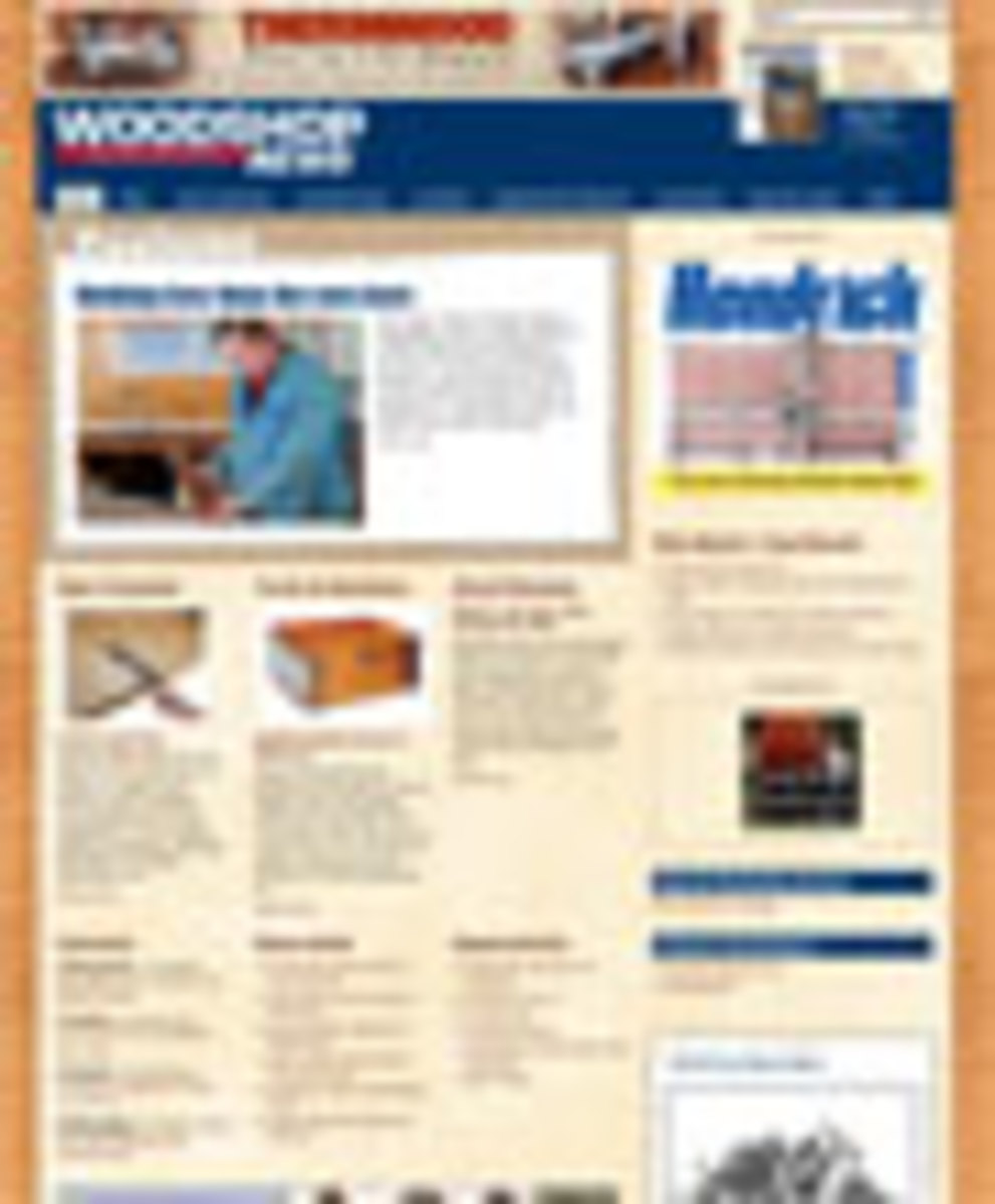 woodshop news website