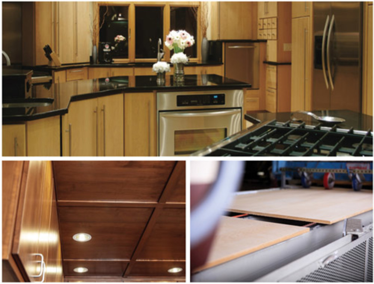 Timber Products Co. uses a flat-line finishing process that reduces material waste.