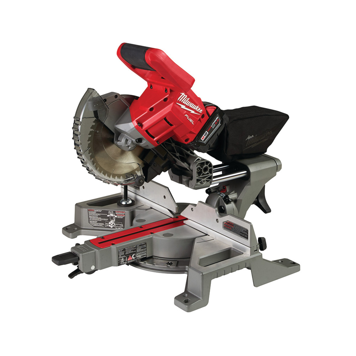 New cordless 7 14 dual bevel sliding miter saw from milwaukee tool milwaukee tool offers a new cordless 7 14 dual bevel sliding miter saw the saw weighs 28 lbs with the batter installed and is the only 7 14 solution greentooth Images
