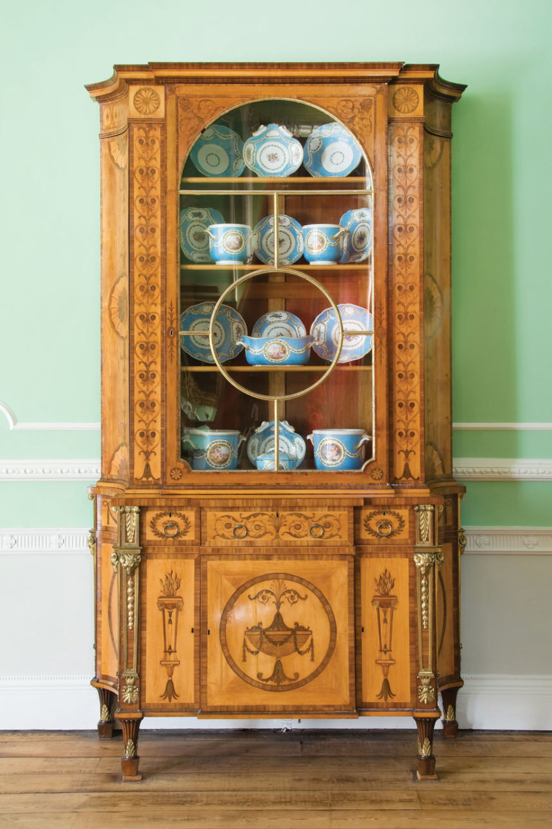 Thomas Chippendale's Panshanger cabinet