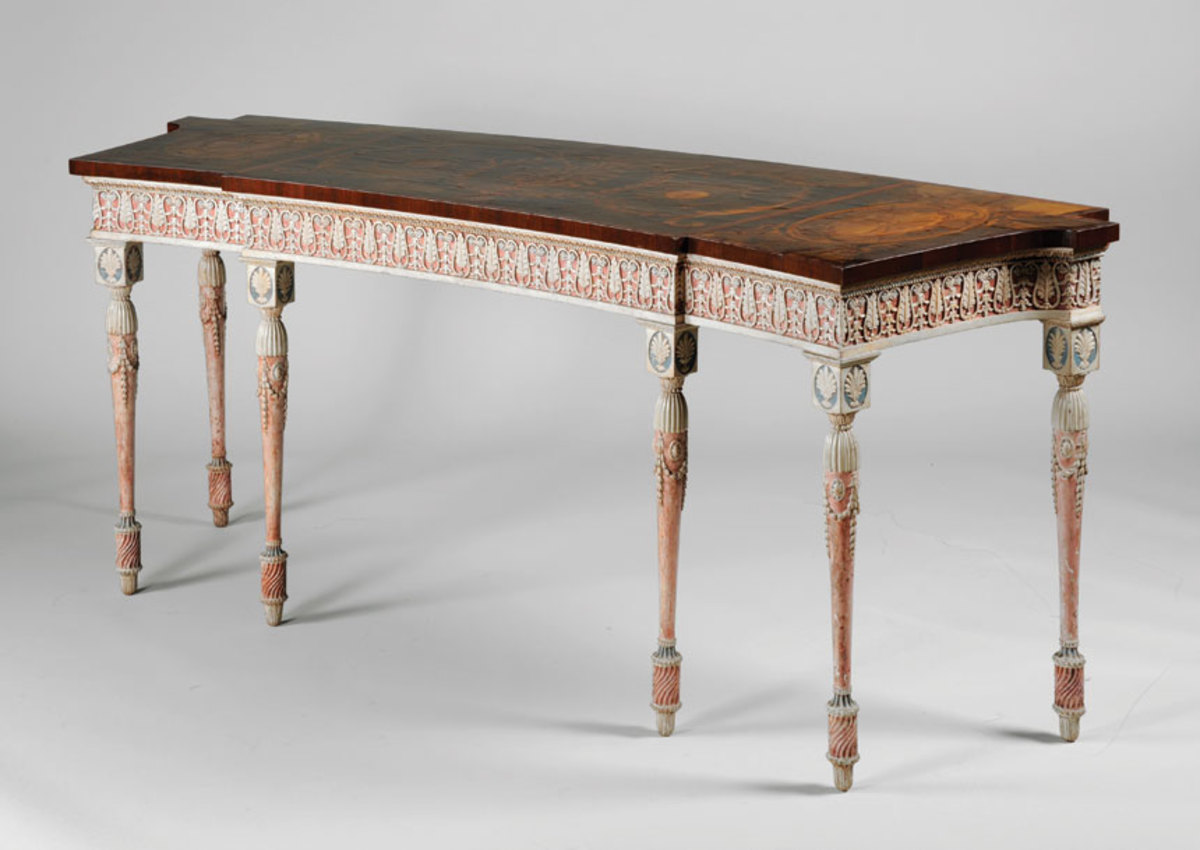 Thomas Chippendale's dressing room table.
